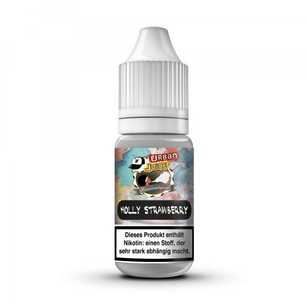 Urban Juice Mix and Vape -Holly Strawberry- 100 ml